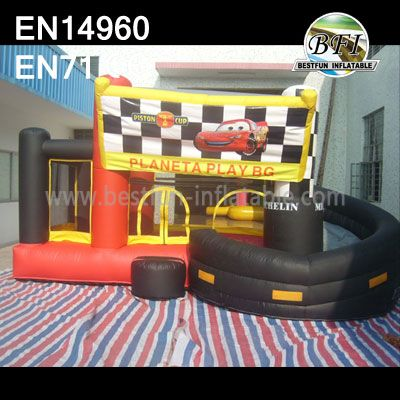 The Cars Pvc Inflatable Bounce and Slide
