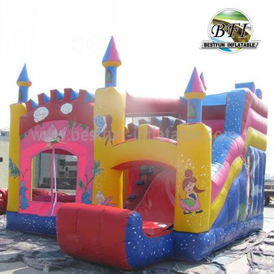 Popular Commercial Inflatable Bouncy Castle Combo
