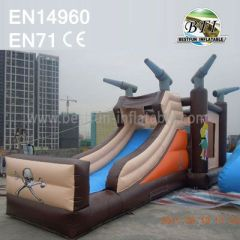 Inflatable Slide Trampoline Combo for Rentals