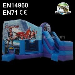 Pirate Ship Funny Inflatable Combo for Sale