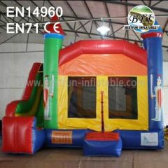 Outdoor Inflatable Bouncers with Slide for Rentals
