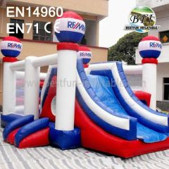 Backyard Inflatable Castle with Slides