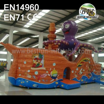 Octopus Large Inflatables Jump Castle