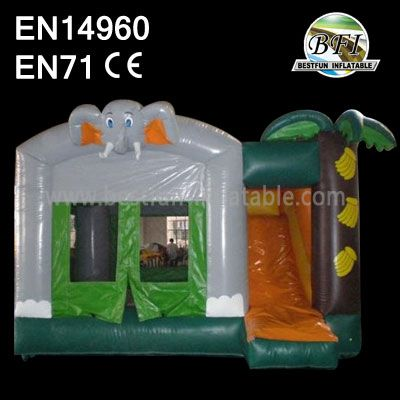Cheap Inflatable Bouncers with Slides