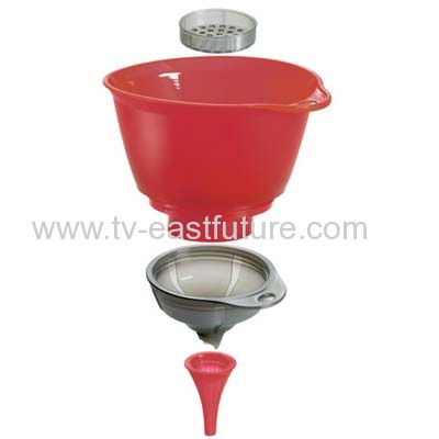 Cuisipro - 3 in 1 Funnel