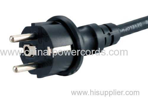 Pump with H07RN8-F Rubber cable