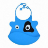 OEM color silicone blank baby bib blank