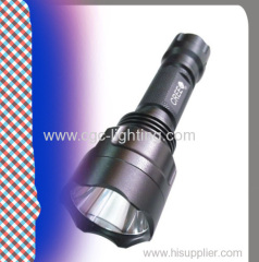 CREE LED flashlight with focus brightness