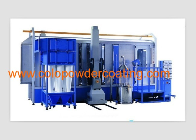 powder coating booth system