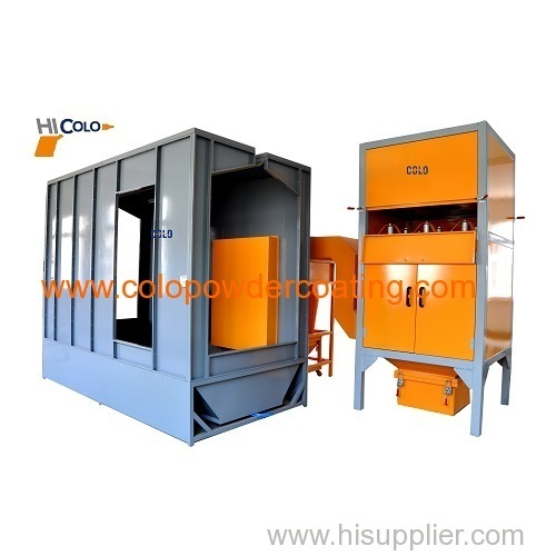 industrial powder coating system