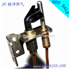 Natural ODS pilot with front gap bracket(thread nut round thermocouple)
