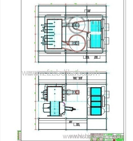 Water tube 240t coal-fired circulating fluidized bed boilers
