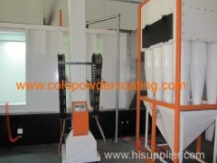 aluminum powder coating booth