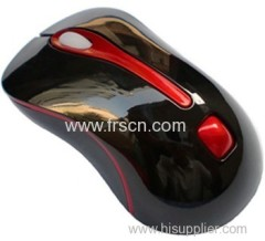 China Newest Black high resolution optical mouse