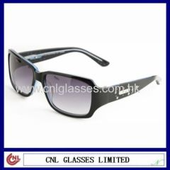 Metal Decoration Acetate Sunglasses