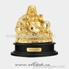 Vivid Buddha Brass Sculpture