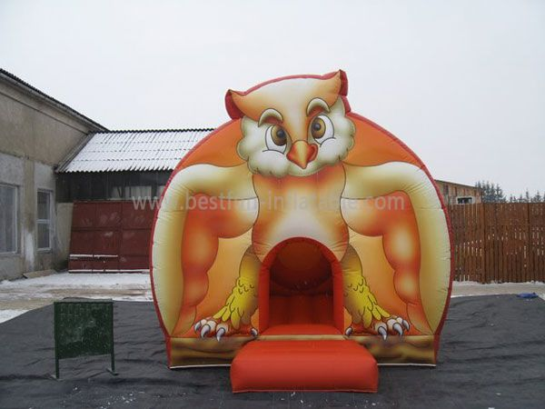 Fun Inflatable Jumping Owl Castles