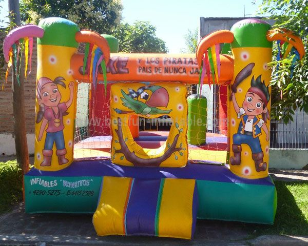 Inflatable LittlePirateJungle Castle
