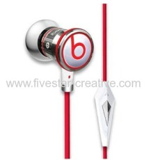 Beats by Dr.Dre iBeats ControlTalk In Ear Headphone Chrome For iPhone iPod iPad