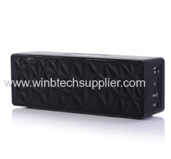 note 3 s4 Wireless Mini Bluetooth Speaker HiFi Music Player with MIC For iPhone 5 MP4 MP3 Tablet PC TF card slot