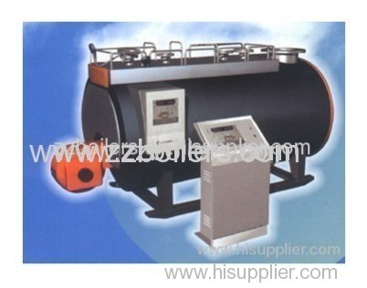 Natural circulation WNS Series Fuel and Gas Boilers