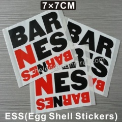self destructive vinyl stickers eggshell sheets 7×7