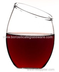 Elegant Borosilicate Glass Red Wine Glasses