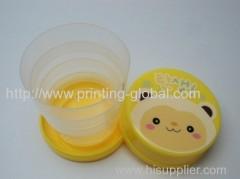 Heat transfer film for mini telescopic convenient cup