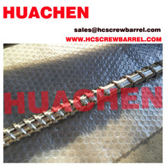 KMD extruder bimetallic screw
