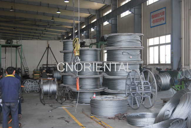 pulling rope anti-twisted steel wire rope for tension stringing