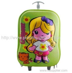 Heat transfer film for child travel luggage