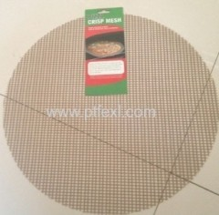PTFE non-stick cooking grill mesh for pizza