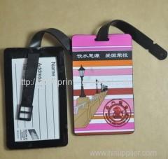Heat transfer film for luggage tag