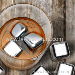 NEW Stainless Steel Ice Cubes