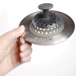 Silicone Stainless Steel Sink Strainer