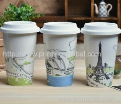 Heat transfer film for keep cup