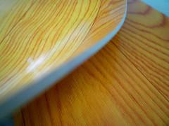 Wood stripe design sponge flooring