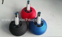 Newest mini bluetooth speaker with tf card bluetooth earphone Power bank for charging