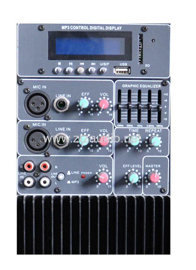 Professional active & passive speaker box TN1202 series