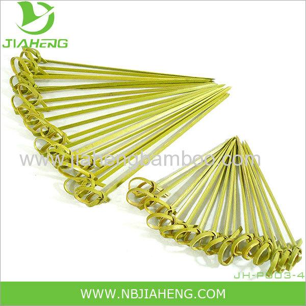 Bamboo Loop Skewers 3.5 Inch 1000 Count Box