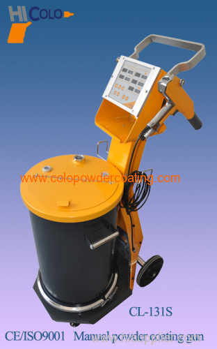 electrostatic powder manual coating equipment