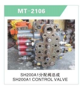 SH200A1 CONTORL VALVE FOR EXCAVATOR