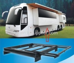 travel trailer leveling system