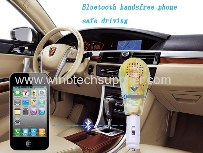 Promotion giftchristmas day giftof bluetooth speaker car kit