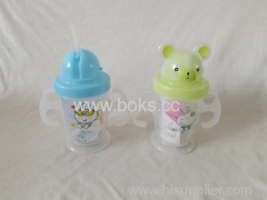 Plastic drinking Straw Cup