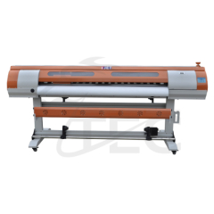 Eco solvent printer with water based ink