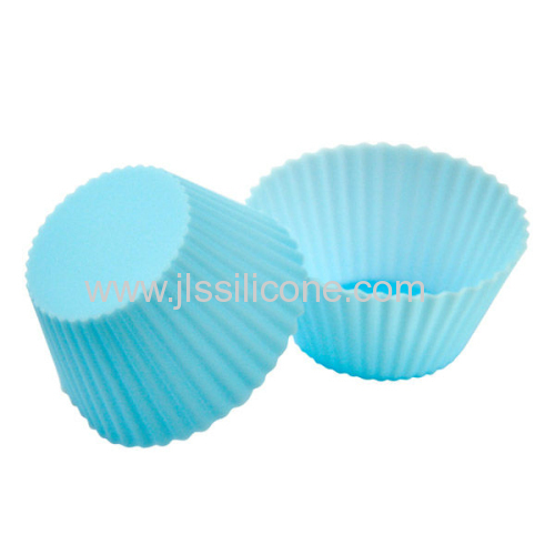 2013 rainbow series colorful Silicone cup cakes molds