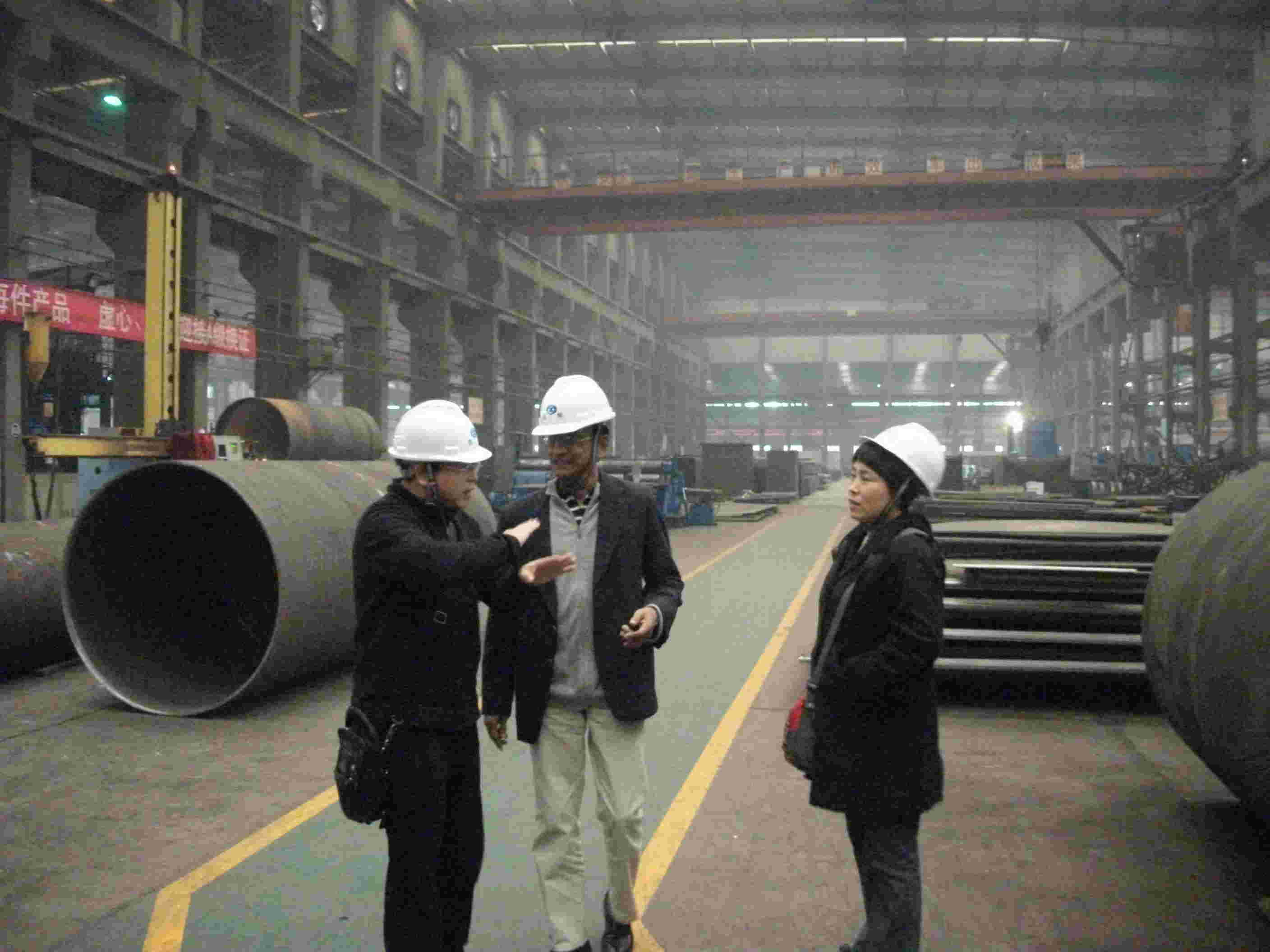 Visiting of our Pakistan customers