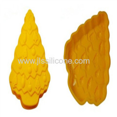 high quality silicone cookie baking cups with Chrismas tree shape
