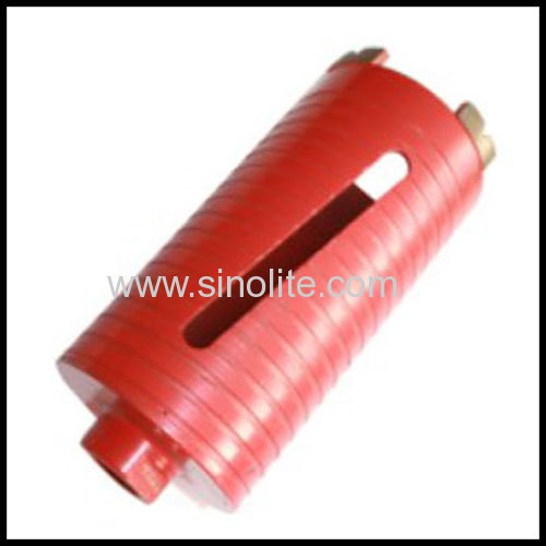 Diamond segmented core drill Size: 25-152mm with diamond segmented cutters for professional users